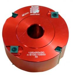 Porte-outil à calibrer D. 120 x 50 x Al. 30mm Z2 V2+2 FMK125