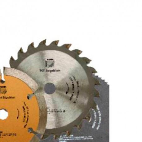Lame de scie carbure D. 89 x Al. 10 mm x Z24 KSB8910Z24/32/1+1 pour TAS89M