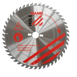 Lame de scie circulaire Alu D. 250 x 30 mm x Z100 TP Nég KSBA25030Z100