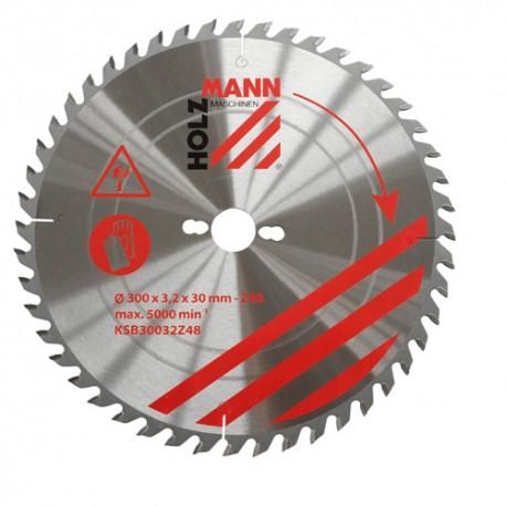 Lame de scie circulaire Alu D. 250 x 30 mm x Z120 TP Nég KSBA25030Z120