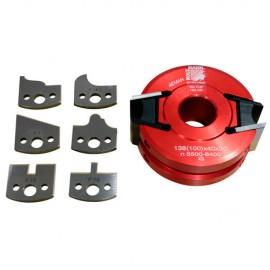 Porte-outil à profiler avec contre-fers D. 100 x 40 x Al. 30 mm Z2 UNISET40