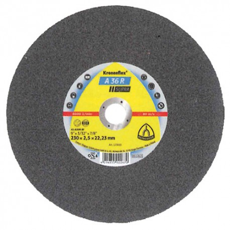 25 disques à tronçonner MP SUPRA A 36 R D. 115 x 2 x 22,23 mm - Acier inoxydable - 123208