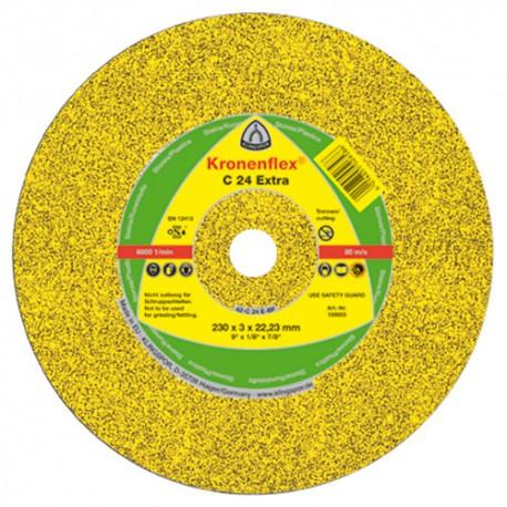 25 disques à tronçonner MP EXTRA C 24 D. 180 x 3 x 22,23 mm - Pierre / béton - 13489