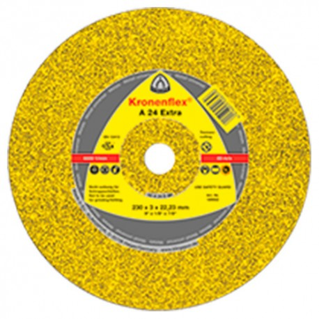 25 disques à tronçonner MP EXTRA A 24 EX D. 230 x 3 x 22,23 mm - Métal - 13492