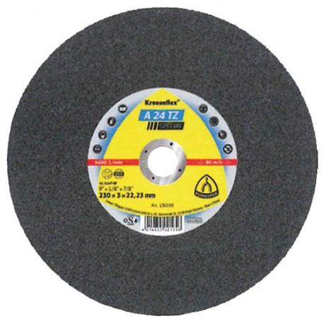 25 disques à tronçonner MD SPECIAL A 24 TZ D. 125 x 2,5 x 22,23 mm - Acier inoxydable - 136555