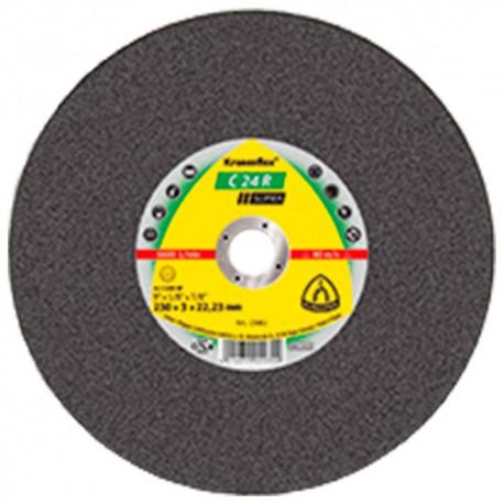 25 disques à tronçonner MD SUPRA C 24 R D. 125 x 2,5 x 22,23 mm - Pierre / Béton - 13739