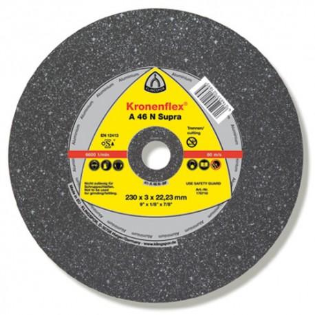 25 disques à tronçonner MD SUPRA A 46 N D. 115 x 2,5 x 22,23 mm - Aluminium - 170707
