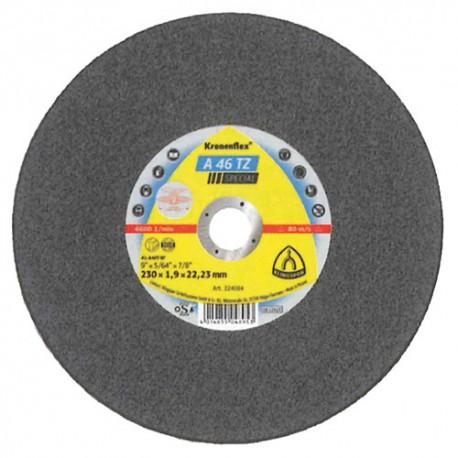 25 disques à tronçonner MP SPECIAL A 46 TZ D. 230 x 1,9 x 22,23 mm - Acier inoxydable - 224084