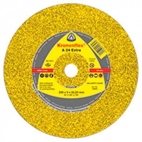 25 disques à tronçonner MP EXTRA A 24 EX D. 125 x 2,5 x 22,23 mm - Métal - 242138