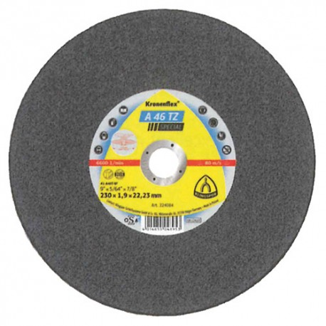 25 disques à tronçonner MD SPECIAL A 46 TZ D. 230 x 1,9 x 22,23 mm - Acier inoxydable - 265044