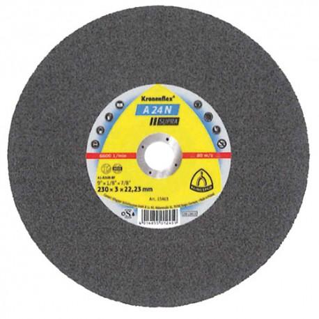 25 disques à tronçonner MD SUPRA A 24 N D. 115 x 2,5 x 22,23 mm - Acier inoxydable - 3020