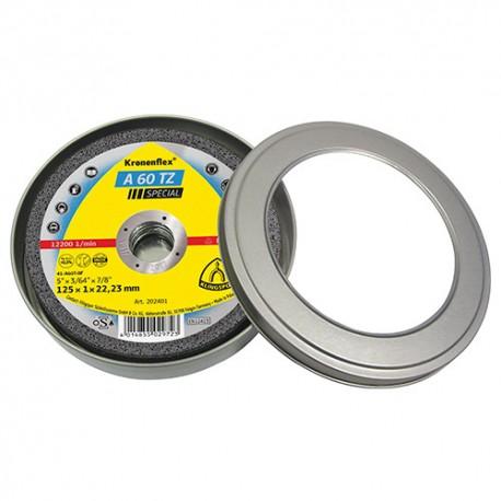 5 boites de 10 disques à tronçonner MP SPECIAL A 60 TZ D. 125 x 1 x 22,23 mm - Métal / Inox - 310504