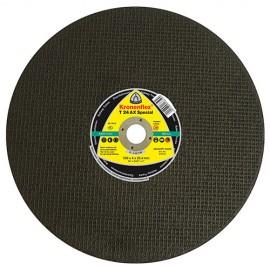 10 disques à tronçonner MP SPECIAL T24 AX D. 350 x 4 x 25,4 mm - Acier / Rail - 314014