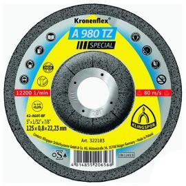 25 disques à tronçonner MD SPECIAL A 980 TZ D. 115 x 0,8 x 22,23 mm - Acier / Inox - 322182