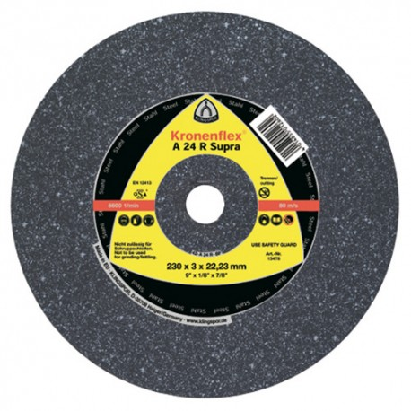 25 disques à tronçonner MP SUPRA A 24 R D. 150 x 2,5 x 22,23 mm - Acier - 6667