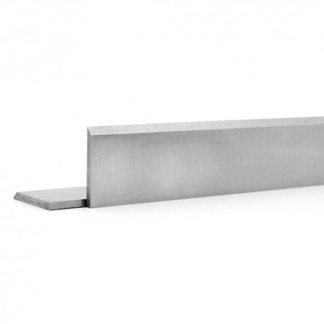Fer de dégauchisseuse/raboteuse en acier HSS 18% 610 x 25 x 2,5 mm (le fer) - MFLS - FEHS6102525