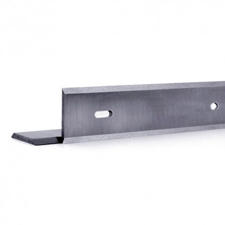 Fer de dégauchisseuse/raboteuse reversible HSS 18% 710 x 19 x 1 mm (le fer) - MFLS - FERE710191
