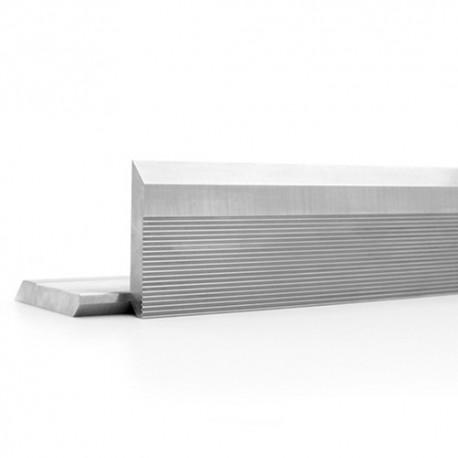 Fer brut cranté en acier HSS 18 % 40 x 40 x 8 mm (le fer) - MFLS - FERS0824