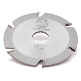 Fraise à rainer pour lamello D. 102 x Ht. 3,97 x Al. 22mm Z : 12 HM - MFLS - FRAI0002