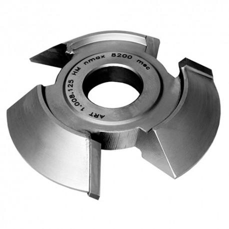 Fraise chanfrein 45° HM dessous D. 140 x Ht. 20 x Al. 50 mm x Z 3 - MFLS - FRAI0063