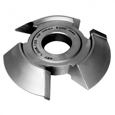 Fraise chanfrein 45° HM dessus D. 160 x Ht. 30 x Al. 50 mm x Z 3 - MFLS - FRAI0064