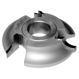 Fraise 1/4 rond rayon 25 mm dessous D. 160 x Al. 50 x Z 3 coupes HM - MFLS - FRAI0149