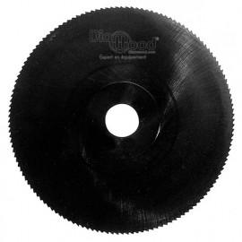 Fraise scie HSS DMo5 Vapeur Noir D. 250 x Al. 25,4 x T6 x ép. 2,5 mm x Z 128 - DIAMWOOD