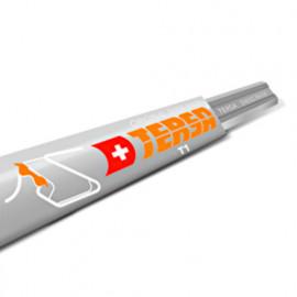 Fer réversible TERSA T1 250 x 10 x 2,3 mm (le fer) - TERSA - T1250