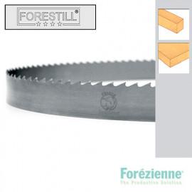 Lame de scie à ruban bois PAE 6650 x 10 x 0,7 x 10 mm - Acier Forestill - Forezienne