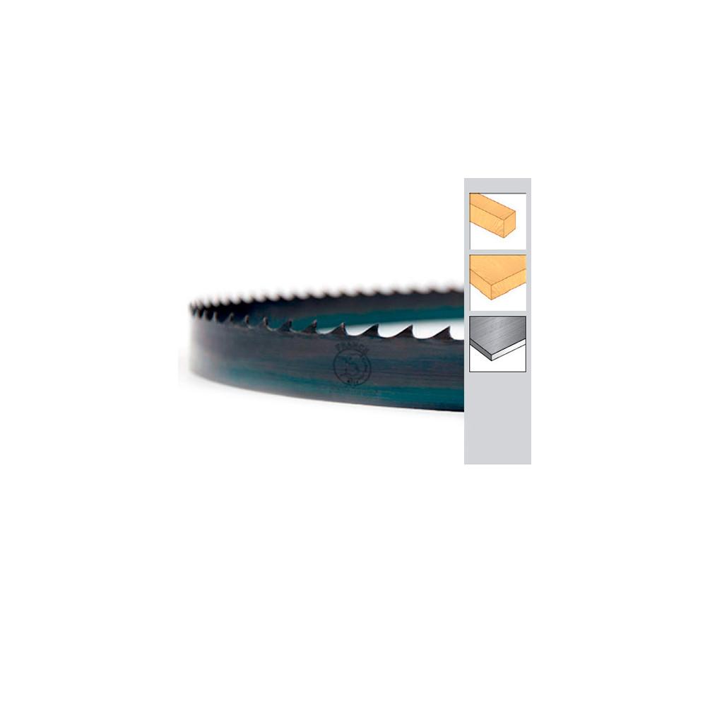 lame de scie ruban bois pae double denture 1752 x 8 x 0 65 x 4 tpi acier tremp carbone. Black Bedroom Furniture Sets. Home Design Ideas