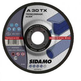 25 disques à tronçonner MD - D.125 x 3.2 x 22,23 mm A30 TX - Acier - 10101003