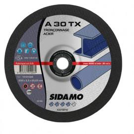 25 disques à tronçonner MD - D.230 x 3.3 x 22,23 mm A30 TX - Acier - 10101006