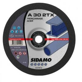 25 disques à tronçonner MD - D.230 x 2.5 x 22,23 mm A30 2TX - Acier - 10101122