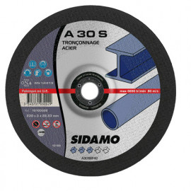 25 disques à tronçonner MD - D.230 x 3 x 22,23 mm A30S - Acier - 10103002