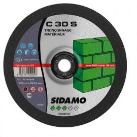 25 disques à tronçonner MD - D.230 x 3 x 22,23 mm C30S - Matériaux - 10104002