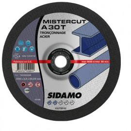 25 disques à tronçonner Mister Cut MD - D.115 x 3 x 22,23 mm A30T - Acier - 10105001