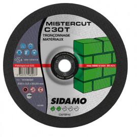 25 disques à tronçonner Mister Cut MD - D.230 x 3.2 x 22,23 mm C30T - Matériaux - 10106003
