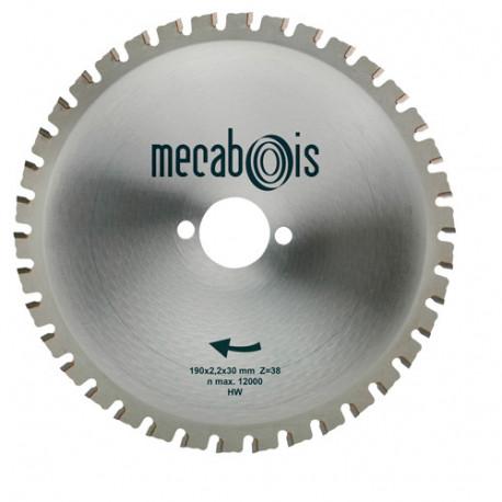 Lame carbure MAXIMETAUX D. 160 x 2,2 x 16 mm Z 30 dents plates - Aciers/Profilés/Panneaux sandwich - 280256