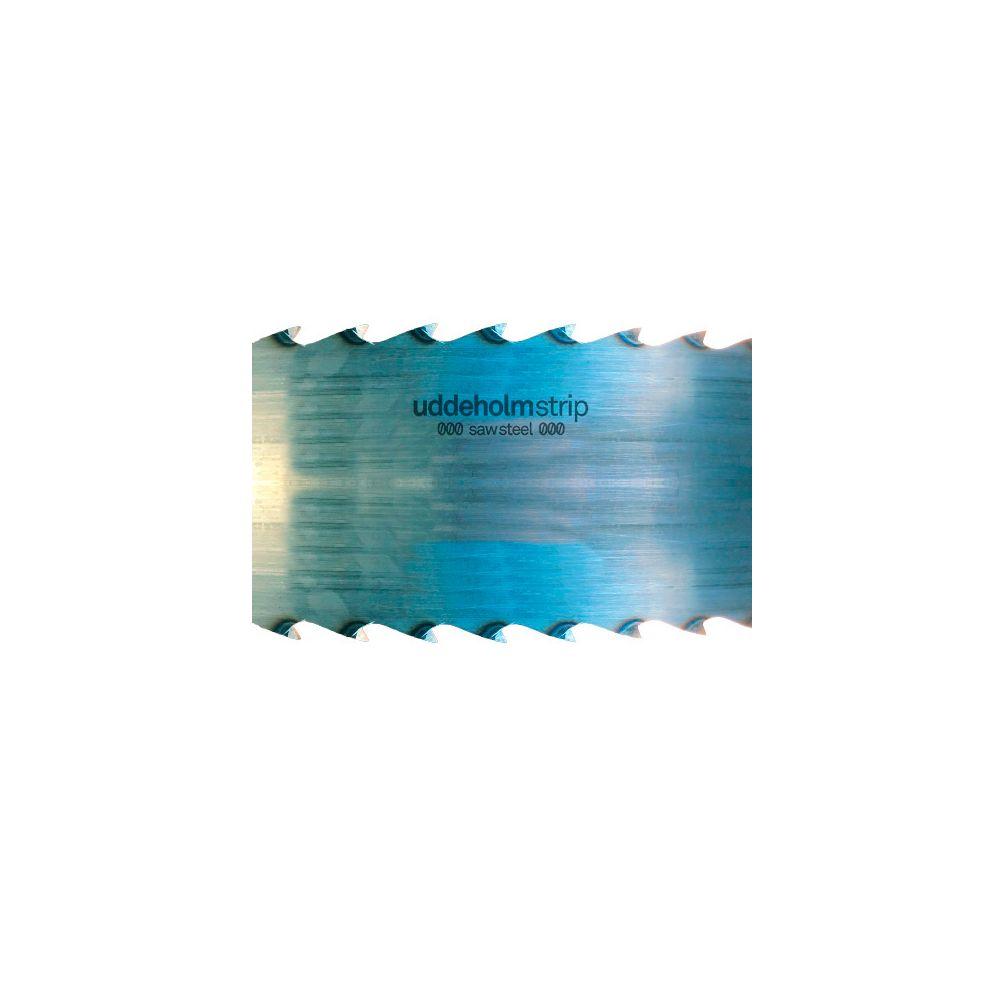 SBM Uddeholm Lot de 2 rubans pour scie /à ruban 3500 x 20 x 0,7 mm avec distance entre les dents de 7 mm