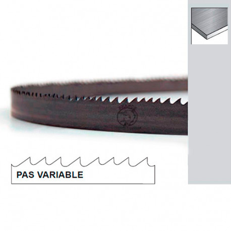Lame de scie à ruban métal PAE 3495 x 27 x 0,9 x 4/6 TPI N pas variable - Bi-métal M42 - Forezienne