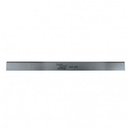 Fer de dégauchisseuse/raboteuse PRO 410 x 30 x 3 mm acier HSS 18% (le fer) - Diamwood Platinum