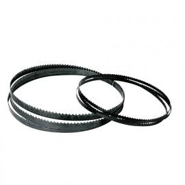 Lame de scie à ruban PAE 1425 x 6 x 0,36 mm x 6 TPI - Acier Flexback - Bois et PVC - LEM01 - Leman