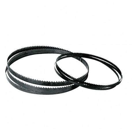 Lame de scie à ruban PAE 2630 x 20 x 0,5 mm x 4 TPI - Acier Flexback - Bois et PVC - LEM48 - Leman
