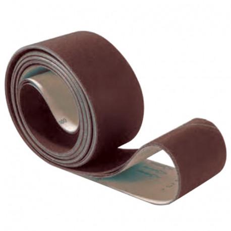 10 bandes abrasives papier corindon Grain fermé sur-mesure pour le bois