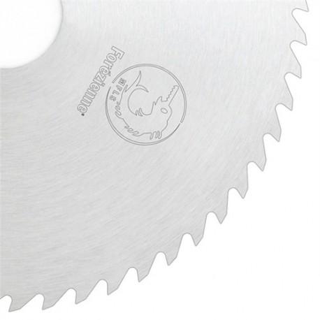 Lame circulaire acier débit MFLS D. 600 x 2.8 mm KV Denture crochet 56 x Al. 30 + 2 TE D.12/70 mm - LADF6005602