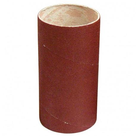 Manchon abrasif pour support caoutchouc D. 62 mm Al. 30 mm Ht. 120 mm Gr. 100 mm - 065.120.100 - Leman