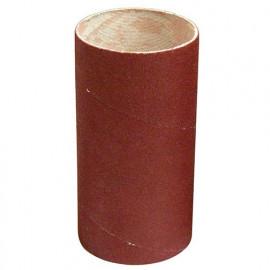 Manchon abrasif pour support caoutchouc D. 82 Al. 50 mm Ht. 120 mm Gr. 080 - 085.120.080 - Leman