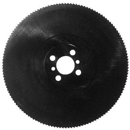Fraise-scie vapo HSS (Dmo5) D. 250 x Al. 25.4 mm. Pas de 4 x 200 dents ép. 2,5 mm. Pour l'acier - 122.254.2525 - Leman
