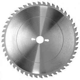 Lame carbure de scie circulaire de mise à format D. 400 x Al. 30 mm. x 48 dents alt. à bois - 326.400.3048 - Leman