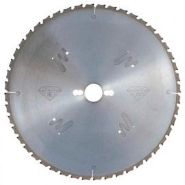 Lame circ. diamant D. 300 x Al. 30 mm. x 72 dents alt. pour matériaux abrasifs - 3503003072 - Leman